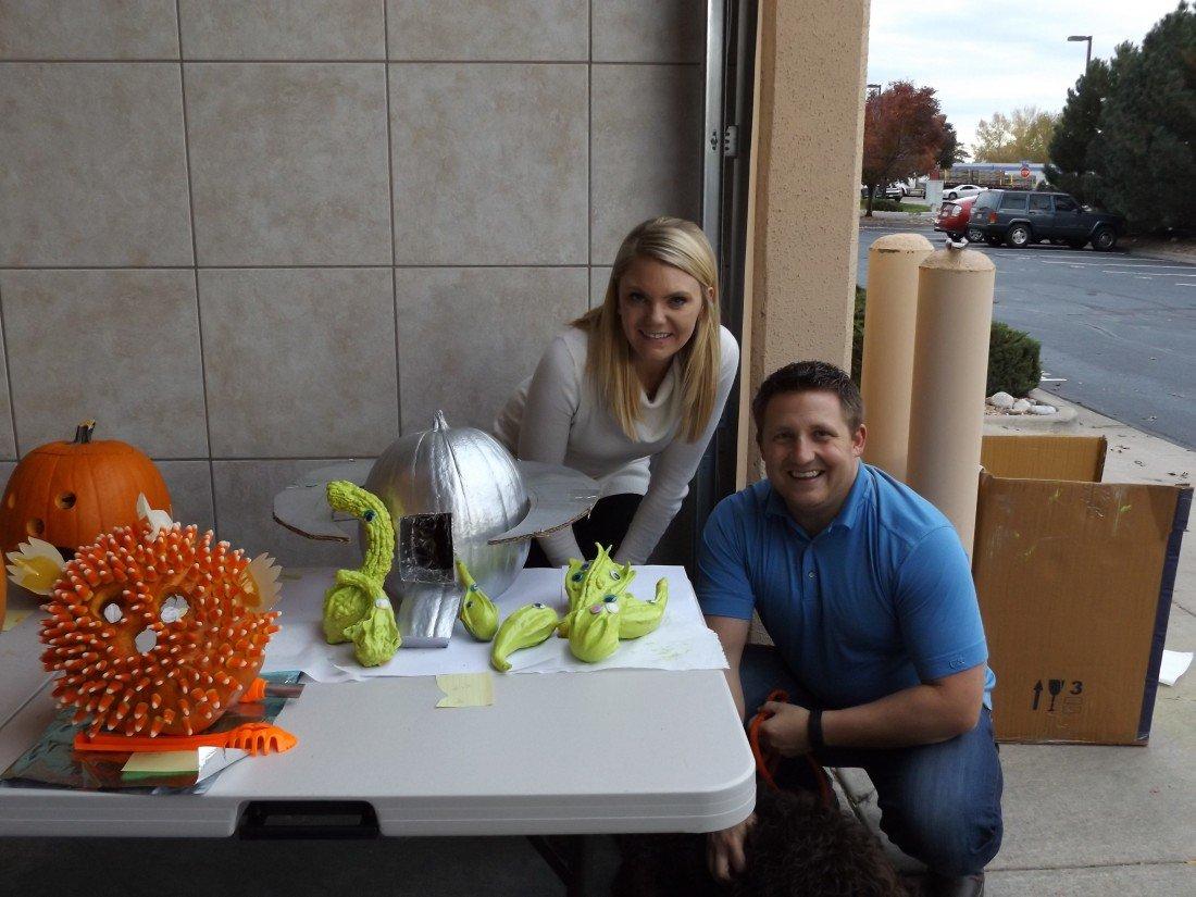 Cody & Shannon Pumpkin Contest 3rd Pl. Winners